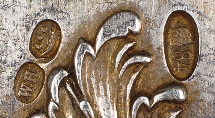 Две десертные вилки. Россия, Санкт-Петербург, Торговый дом «И.Е. Морозов». 1908-1912. Серебро. Общий вес 117,3г. Длина18,5см.