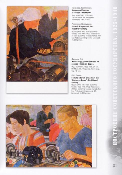 [400 редких открыток эпохи соцреализма] Рубинчик, А.Л. Живопись соцреализма всоветских открытках: альбом-каталог. М., 2008.