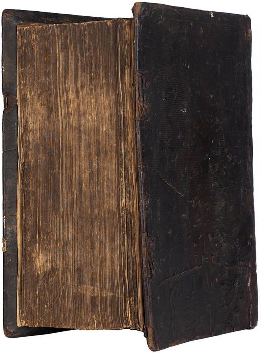 [Свкладной записью предка А.С. Грибоедова] Пролог, вторая половина (март-август). М.: Печ. Двор, 1660.