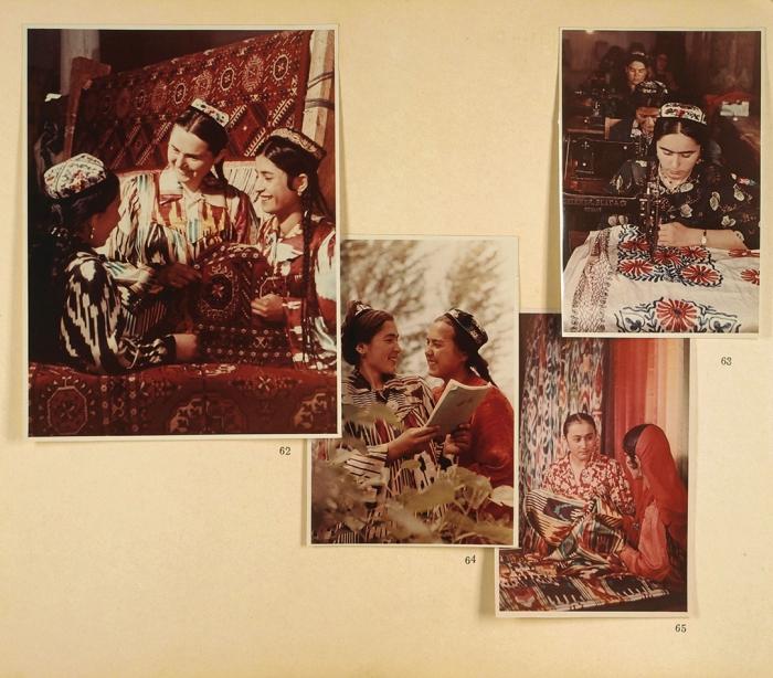 [Тираж 20экземпляров. Экземпляр тов. Шверника] Советский Узбекистан. [Альбом фотографий]. Ташкент, 1959.