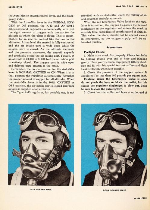 [Роскошное издание для пилота бомбардировщика] Инструкция летчика военного бомбордировщика [наангл.яз.]. [Нью-Йорк], 1945.