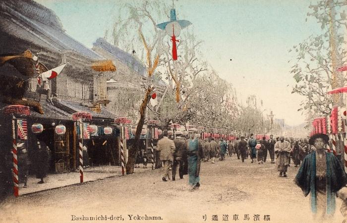 Девять открыток свидами Японии. Б.м., нач. ХХв.