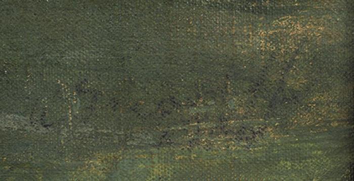 [XXIV Международная выставка, Карнеги институт, Питтсбург] Яковлев Александр Евгеньевич (1887–1938) «Вид Виголено. Италия». 1924. Холст накартоне, масло, 44,5x69см.