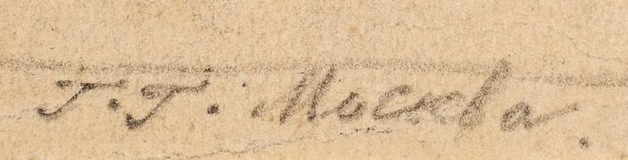 Гольц Георгий Павлович (1893–1946) «Ювелир икарманный вор», «Модничающая женщина». Изсерии «Что видит зритель взаграничной картине». 2листа. 1920-е. Бумага, итальянский карандаш, 34x23,5см; 35,5x23см.
