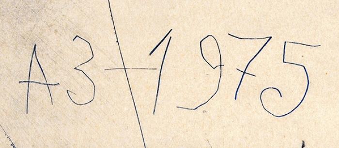 Зверев Анатолий Тимофеевич (1931–1986) «Георгий Победоносец». 1975. Бумага, офорт, 47x31,5см (лист), 34x25,8см (оттиск).