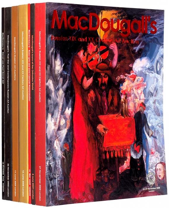 Семь каталогов аукционного дома «MacDougall's». Лондон, 2008-2016.