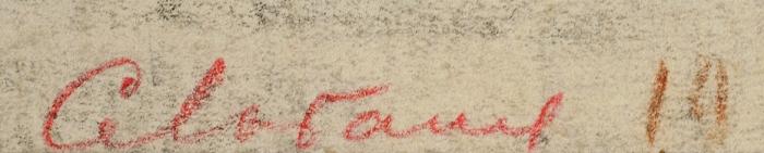 [Собрание Т.А. Боровой] Лобанов Сергей Иванович (1887–1943) «Кожевенный завод. Бахчисарай». 1925. Бумага, графитный карандаш, 27,2x37,8см.