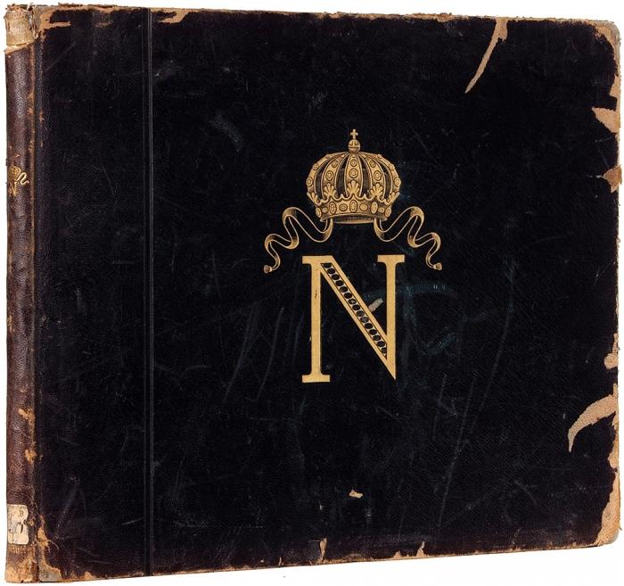 [Альбом] Наполеон. Республика, консулат, империя, Св. Елена. [Нафр.яз.] Париж: Hachette &C°, нач. ХХв.