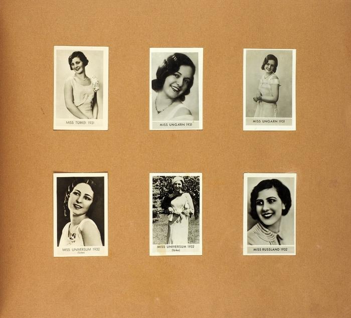 [«Мисс Россия» 1930-1932] Самые красивые женщины мира, представленные королевами красоты всех стран. [Die schoensten Frauen der Welt. Dargestellt durch die Schoenheitskoniginnen aller Lander. Нанем.яз.] [Германия, 1932].