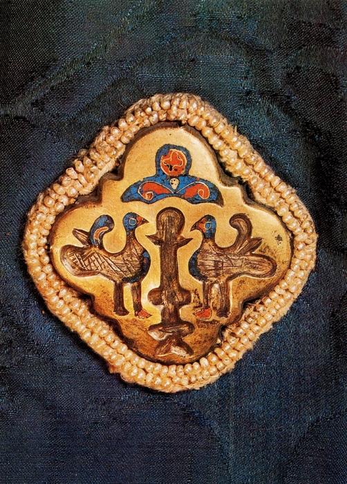 Комплект из20открыток «Изображения животных иптиц врусском ювелирном искусстве». М.: Изобразительное искусство, 1981.