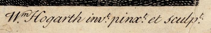 Хогарт Уильям (William Hogarth) (1697–1764) Лист №2изсерии «Карьера проститутки». 1732. Бумага, резец, 37,3x46,3см (лист), 31x37,5см (оттиск).