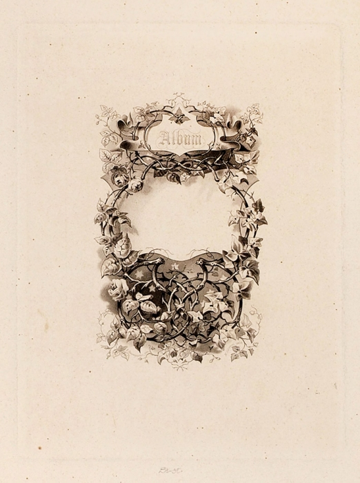 [Уникальный альбом] Русские портреты Морица Леммеля. Лейпциг, 1850-е гг.