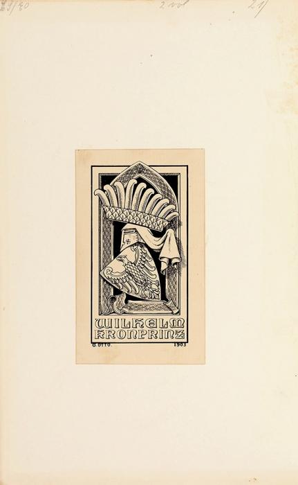 [Экземпляр изсобрания последнего немецкого наследника, кронпринца Вильгельма] Редклифф, Ф.П. Охота налис. [The noble science. Afew general ideas onfox-hunting. Наангл.яз.]. Лондон: G.Routledge &Sons, 1911.