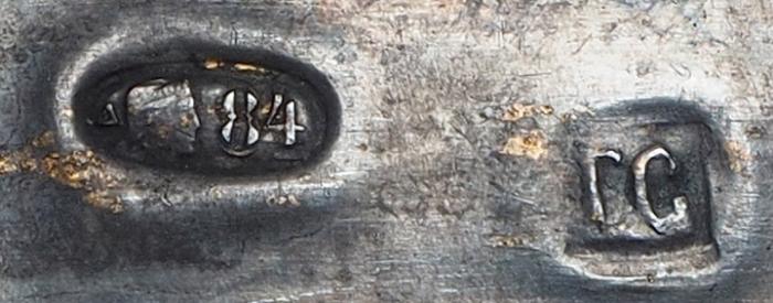 Икона «Богоматерь Казанская». Россия, Москва, мастер Григорий Сбитнев. 1908-1917. Дерево, масло; серебро. Размер 31x26,5x3,5см.