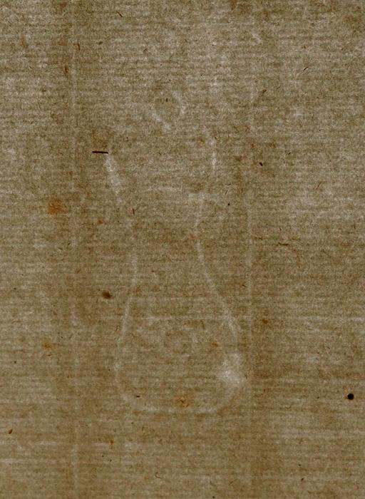 [Идеально для реставрации] Незаполненная учетная книга женского монастыря Святого Креста. [Livre decompte, des filles, delaCongregation delaparroisse Sainte Croix. Нафр.яз.]. [Франция, XVIIIв.].