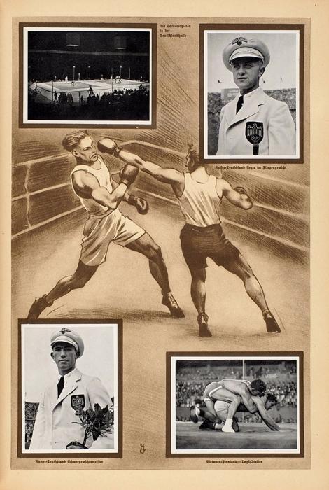 [Олимпиада 1936года]. Олимпия 1936. [Olympia 1936. Нанем.яз.]. Альбом. Дюссельдорф: Pet Cremer, 1936.