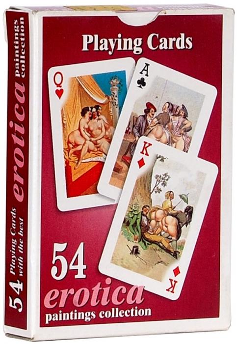 Набор из54игральных эротических карт. 2000-е.