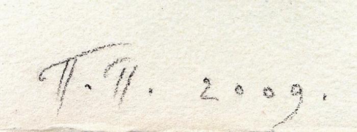 Пепперштейн Павел. Геракл иКентавр (Heracules and the Centaur around 5400). 2009. Бумага, цветная шелкография. 32x46см. Экземпляр без номера сподписью художника.