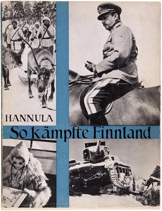 Ханнула, И.Так боролась Финляндия. Советско-Финская война 1939-1940. [Hannula, J.O.SoKämpfte Finnland. Der Finnisch-Sowjetische krieg 1939-1940. Нанем.яз.]. Berlin: Wiking Verlag, 1941.