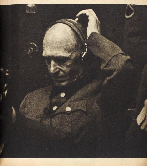 [Фоторепортаж иззала суда] Нюрнберг. Преступления исуд. [Norimberk. Zločin asoud. Начеш.яз.]. Прага: Svět vobrazech, 1946.
