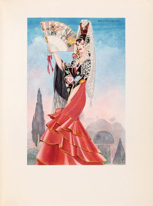 [Иллюстрации Умберто Брунеллески] Мериме, П.Кармен [ипять других новелл, вт.ч. перевод «Пиковой дамы» А.Пушкина] . [Нафр.яз.] Париж: L'édition d'art H. Piazza, 1948.