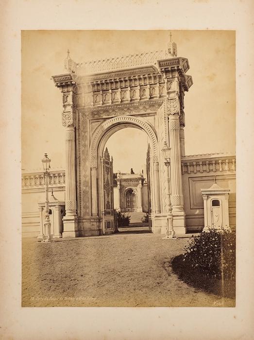 [Альбом фотографий Стамбула] Виды Турции 1878-79/ С.В. Штенге. Б.м., [1879].