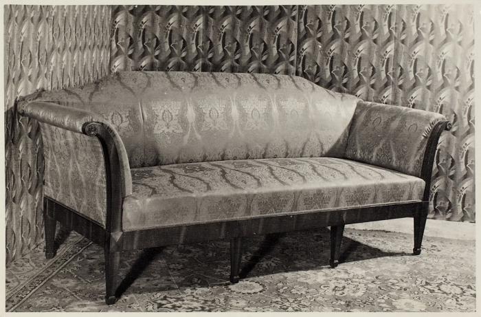 Папка сфотографиями проектов мебели, 1930-е— 1960-е годы.