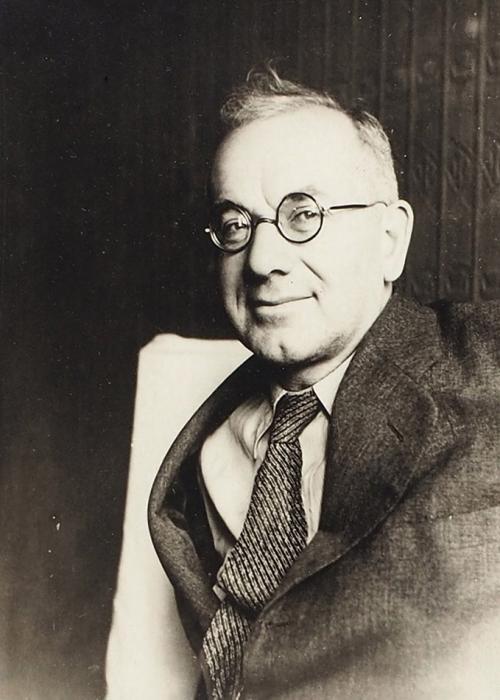 Фотография актера Игоря Ильинского/ фото Н.А. Никифорова. 1940-е.
