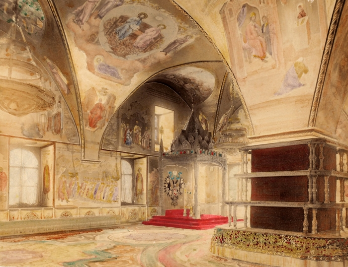 Фотография Грановитой палаты/ фот. B.Avanzo. [M.: Ж.Б. Аванцо, 1890-e гг.].