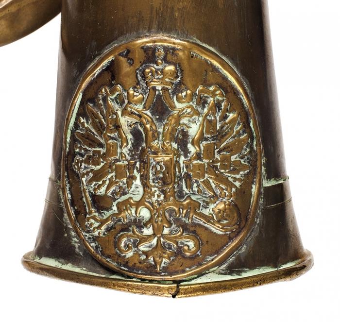 Полковой сигнальный рожок, образца 1857года. [Б.м., 1870-е гг.].