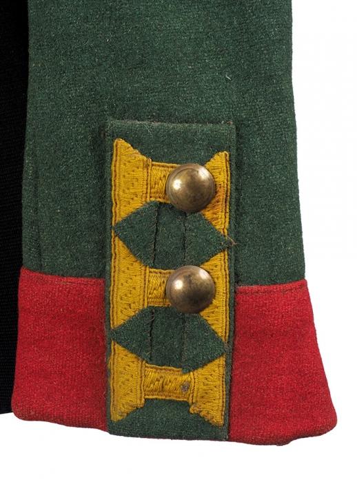 Мундир рядового Преображенского полка, образца 1812г. [Б.м., 1911-1912].