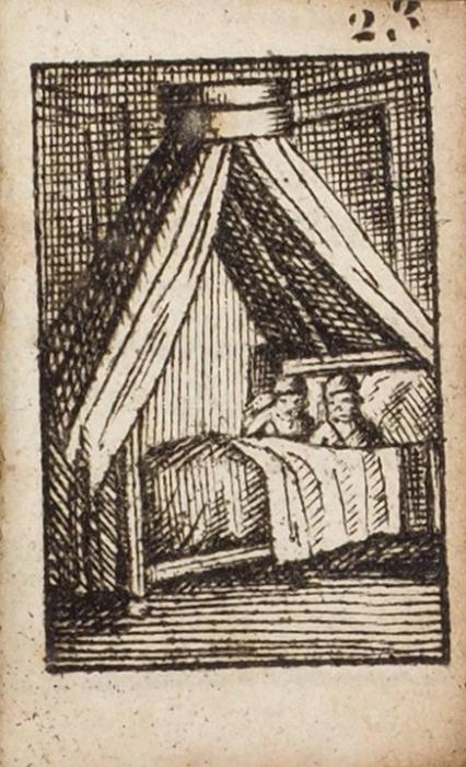 [Миниатюрное издание сгравюрами] Детский месяцеслов на1815год. [L'Emploi dutemps etrennes enfantines pour l'ani 1815. Нафр.яз.]. Париж: Mareilly, 1814.