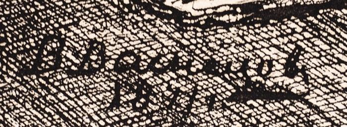 Васнецов Виктор Михайлович (1848–1926) «Сулицы», «Дворник», «Дети». 3листа. Начало 1870-х. Бумага, офорт, 36x51см (лист), 13,5x20,5см (оттиск); 36x51см (лист), 20,5x14,5см (оттиск); 36x51см (лист), 22,5x15см (оттиск).
