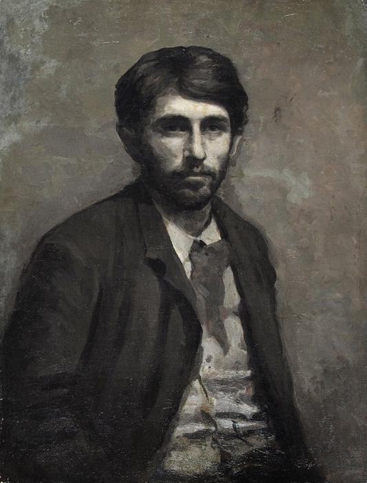 [Собрание Ю.Г. Епатко] Неизвестный художник «Портрет мужчины восточной внешности». 1880-е. Холст, масло, 73x54см.