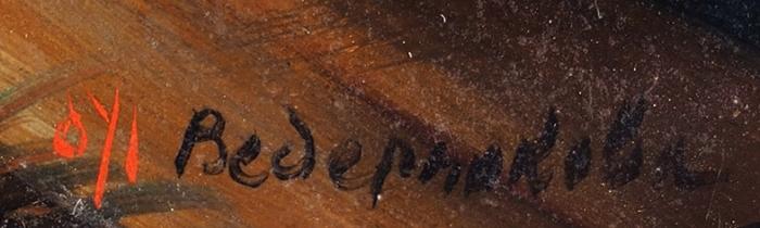 Шкатулка «Заводой». СССР, Федоскино, художник Ведерникова. 1950-е. Папье-маше, роспись. Размер11,2x8,2x2,8см.