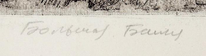 Измайлов Евгений Аскерович (род.1939) «Большая башня». Пробный оттиск. Конец ХХвека. Бумага, офорт, 81,5x60см (лист), 49,5x31,5см (оттиск).